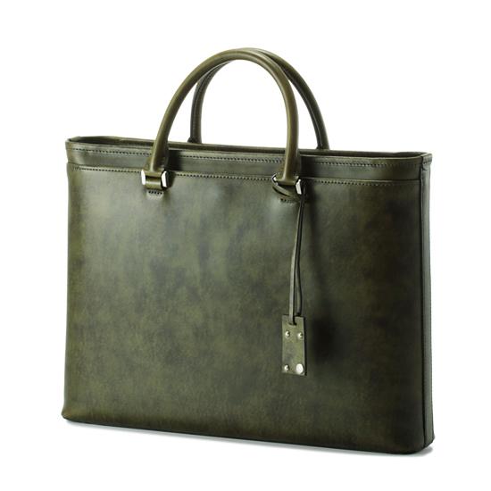 薄マチブリーフ(Waxed Leather)