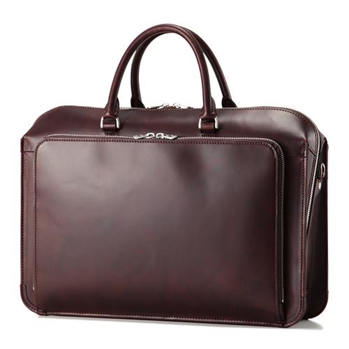 フロントZipブリーフ(Waxed Leather)