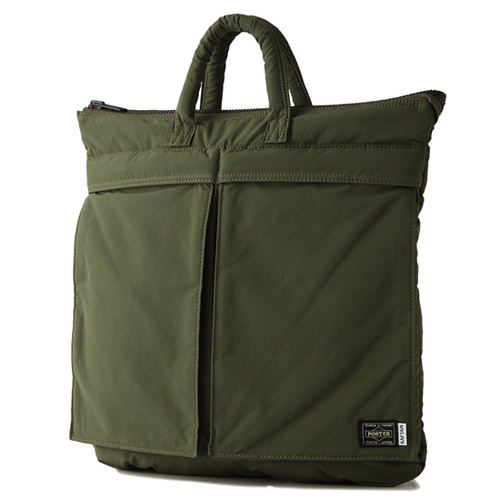 Kaptain Sunshine x Porter 2-way Helmet Bag: Olive