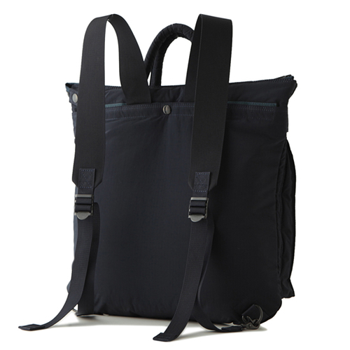 Kaptain Sunshine x Porter 2-way Helmet Bag: Navy