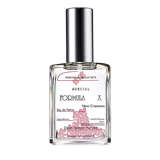 【送料無料】eau de perfum(FORMULA  X)
